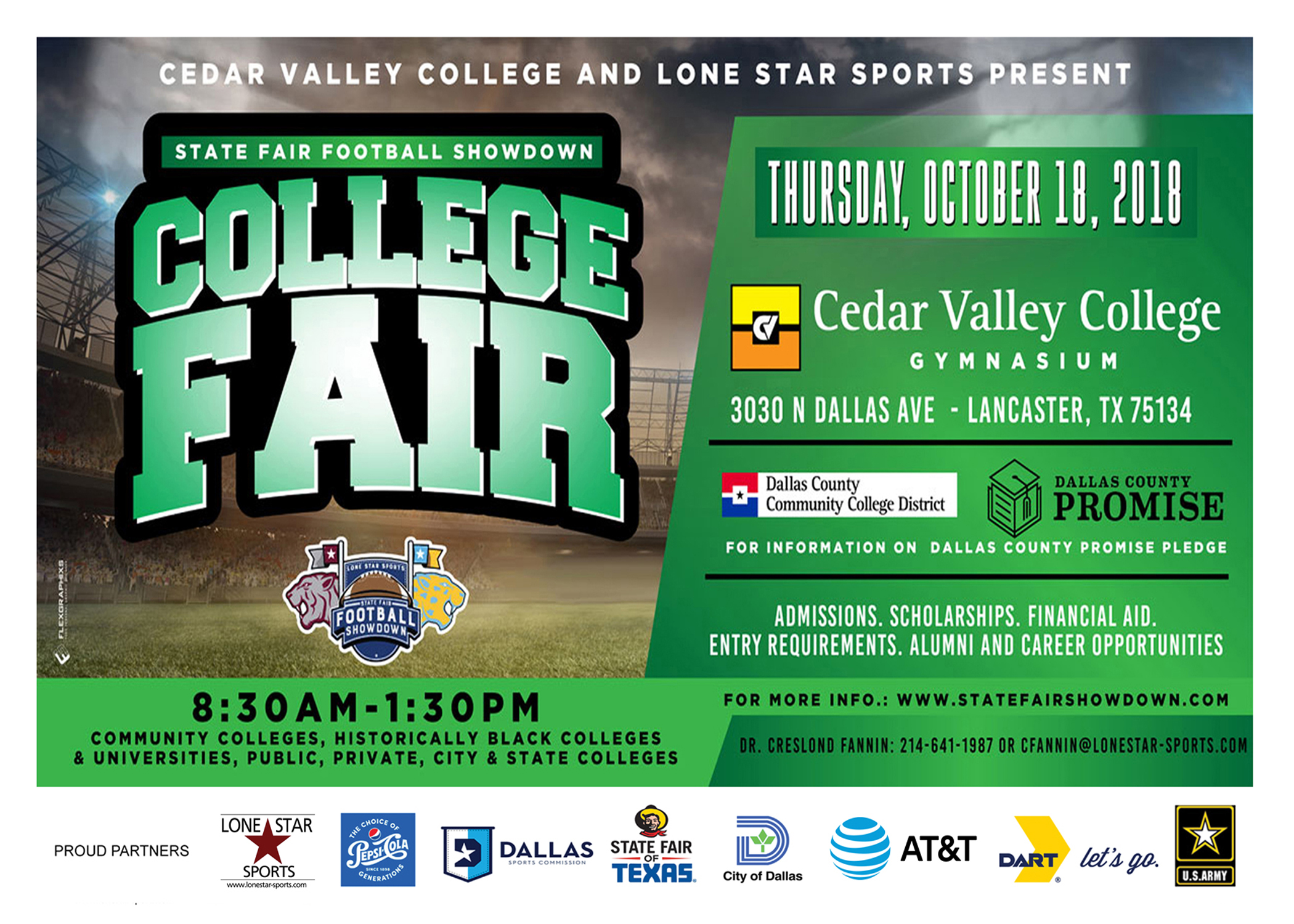 College Fair at Cedar Valley College