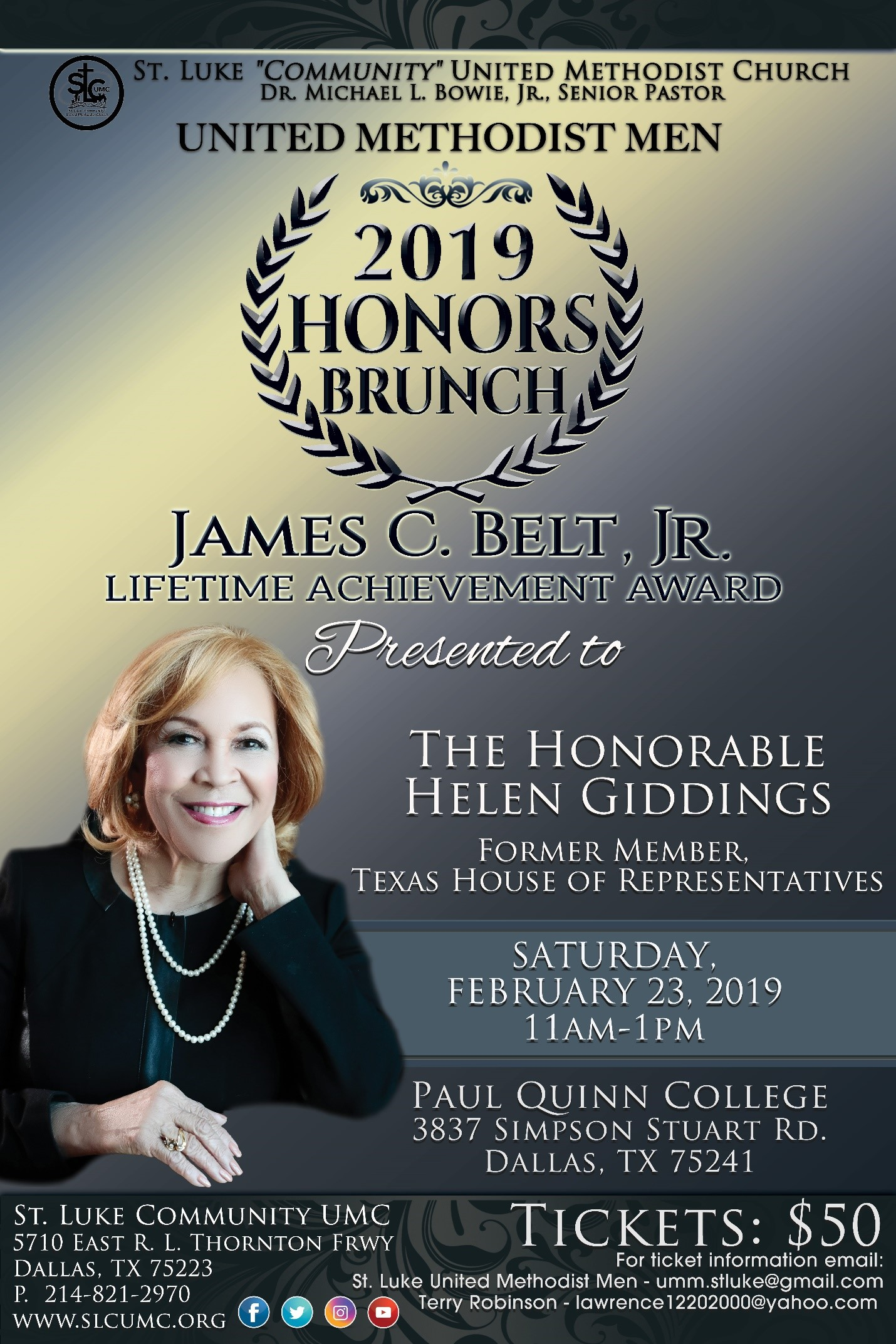 2019 HONORS BRUNCH: FEBRUARY 23, 2019