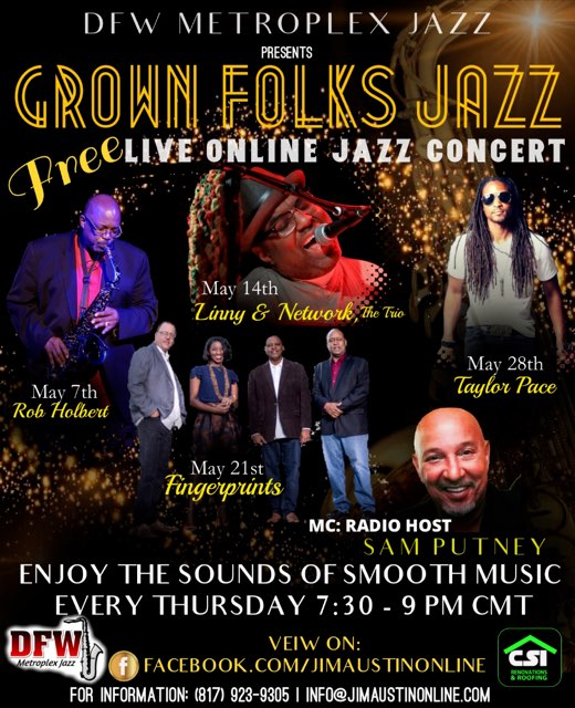 Grown Folks Jazz: Every Thursday in May