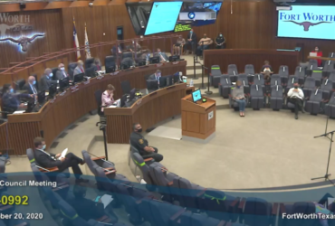 Fort Worth City Council Meeting