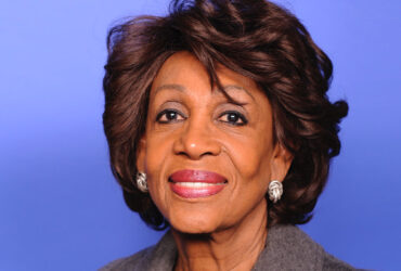 Congresswoman Maxine Waters (CA-43), Chairwoman of the House Committee on Financial Services